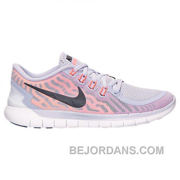 Women s Nike Free 5 0 Running Shoes Titanium Black Fuchsia Flash Hot Lava  724383 502