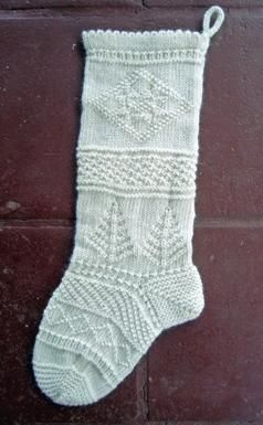 Because 'tis the season, a very pretty stocking pattern.  Mix-It-Up Christmas Stocking Textured