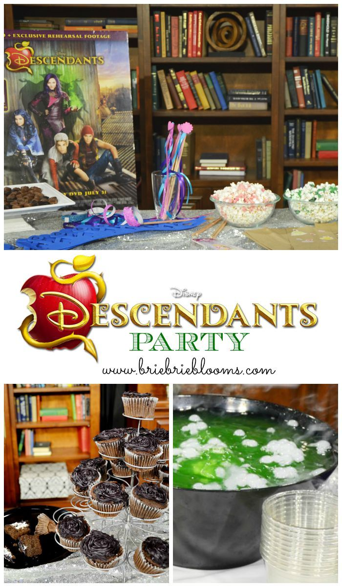 Disney Descendants releases July 31st, 2015. Have fun watching the new movie with a Descendants party while learning about Disney villains and heroes!