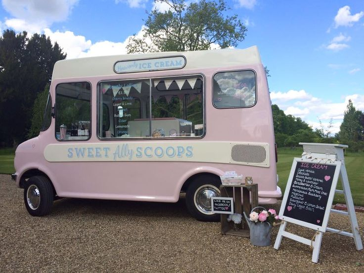 From Aldi To Harrods wedding ice cream van sweet ally scoops  Chippenham Park