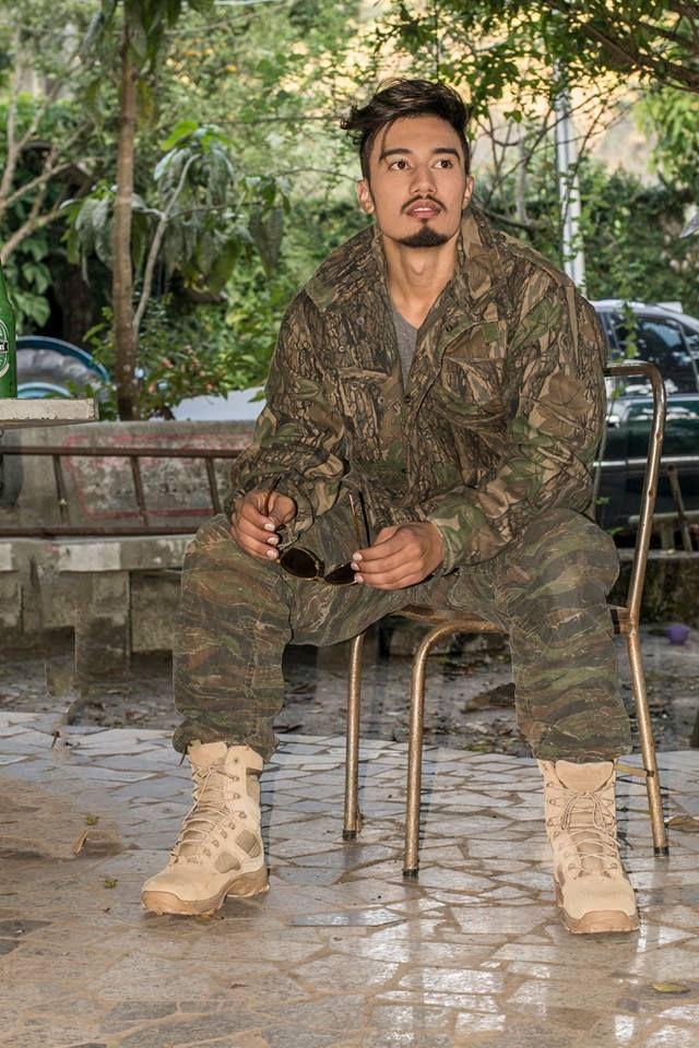 Os trajes militares são uma forte influência de moda masculina, principalmente no inverno
