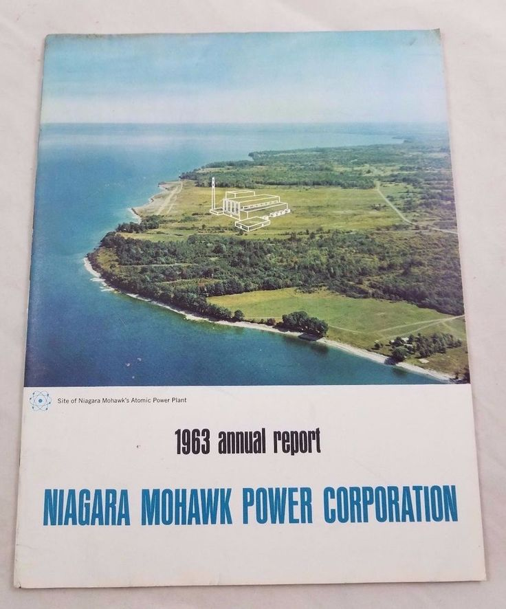 1963 Niagara Mohawk Power Corporation Annual Report Financials Earnings Results
