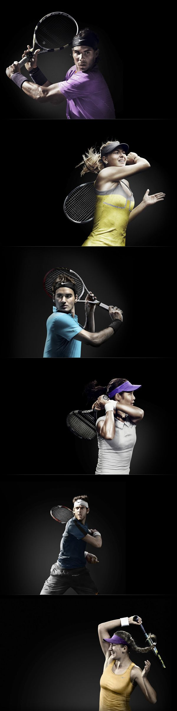 Nike Tennis 2013 by Christopher Eckel