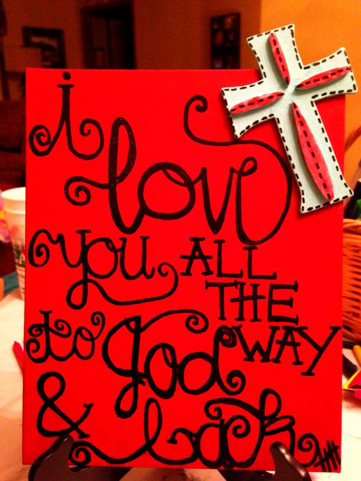 Painted this canvas to add to my boyfriends Christmas gifts!