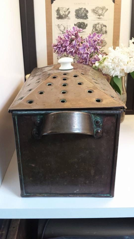 Vintage Copper Steamer Pot Wood Stove Humidifier Copper