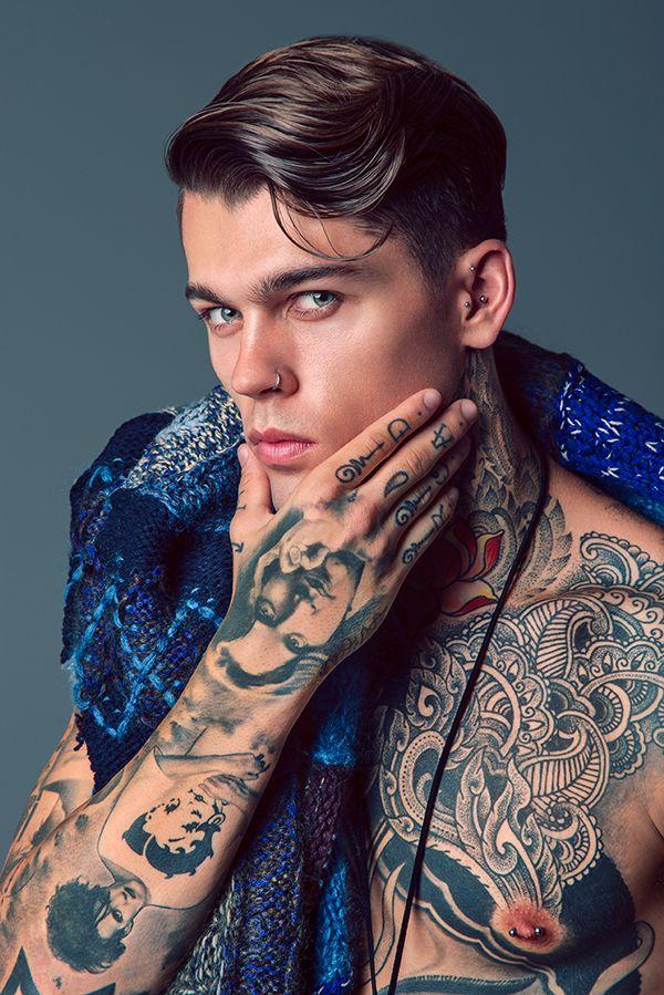Supermodel Stephen James.