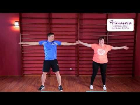 Ćwiczenia dla osób z nadwagą - rozgrzewka - YouTube