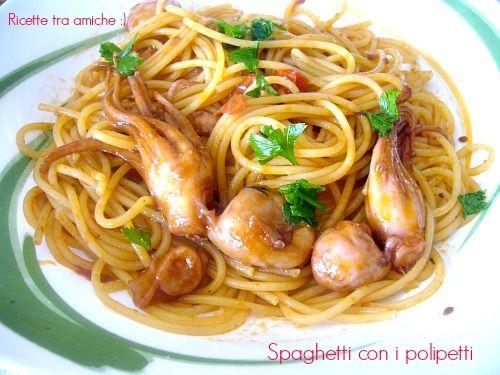 #Spaghetti con i #polipetti