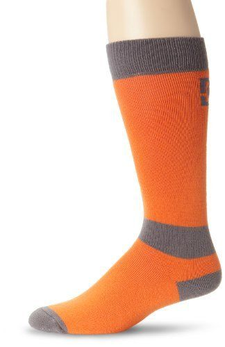 DC Men's Apache 13 Sock, Orange, Large/X-Large by DC. $15.00. Leave it to DC, the Action Sports leader in footwear, to bring you the best sock in snowboarding this winter.