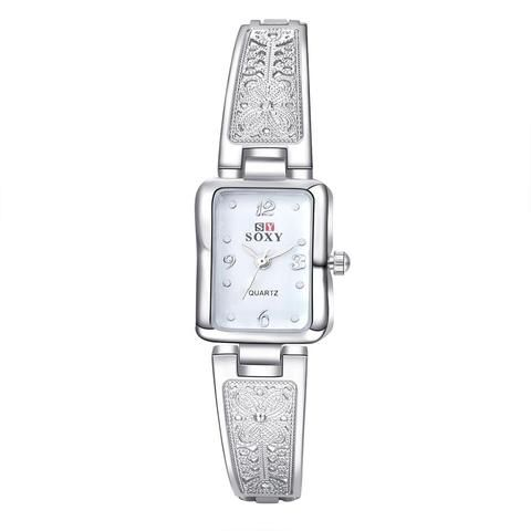 b2615c134714d 2018 New SOXY Brand Women Fashion Bracelet Watch Luxury Gold silver Quartz Watch  Women Dress Watches Ladies Watch Relogio Femini