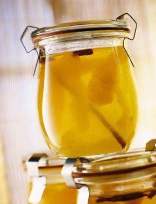 Recette gelée de pommes, orange, citron, cannelle - Cuisine et Vins de France