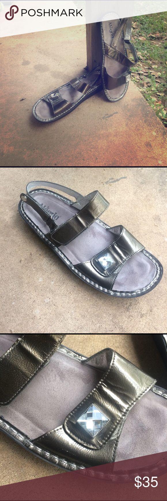 Alegria sandals Slightly worn, Size 41, metallic color Alegria sandals Alegria Shoes Sandals