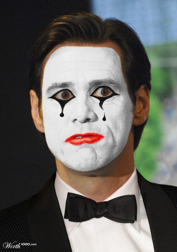 Mime Jim Carrey - Worth1000 Contests   carnaval   Pinterest