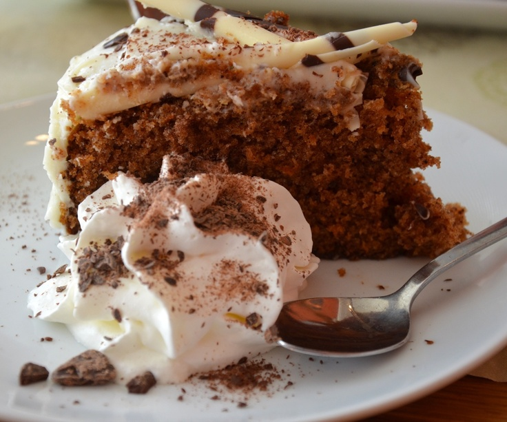 dispatch from la. another view. carrot cake. Bergen.