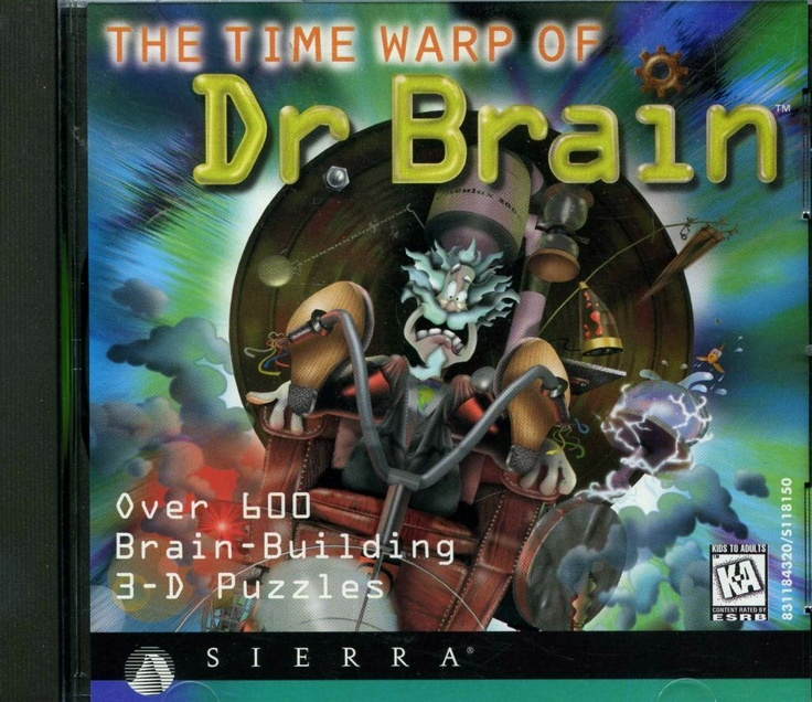my childhood game - The Time Warp of Dr.Brain ...contains over 600 brain-building 3D puzzles! i wish i can play this again. not sure if it can work on Win7. O_o?