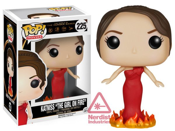 The World of The Hunger Games: Katniss The Girl on Fire Pop figure by Funko