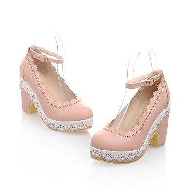 Women's+Chunky+Heel+Platform+Pumps+Shoes(More+Colors)+–+USD+$+34.99