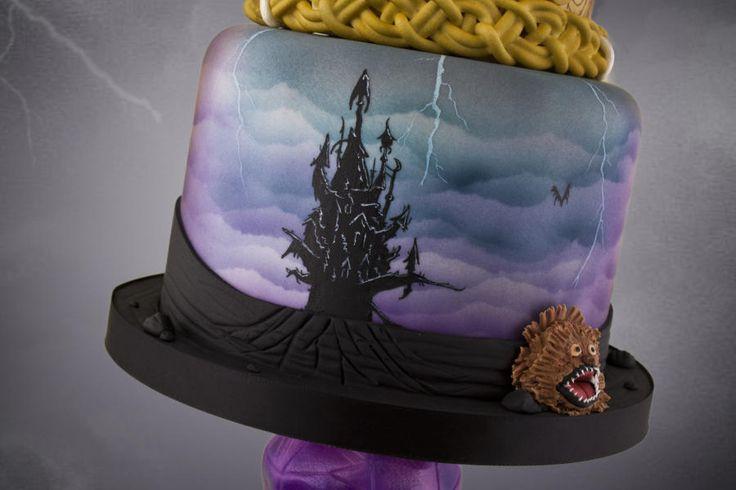Dark Crystal Cake - Cake by Little Cherry - CakesDecor