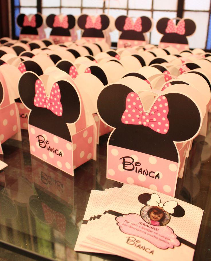 Box Souvenirs Minnie  Violeta Glace