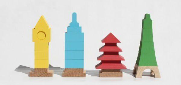 Mitoi - wooden building blocks with an international twist