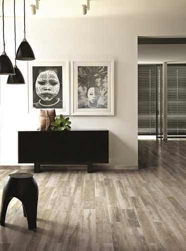Cerim Paint Light Grey Wood Effect Floor Tiles