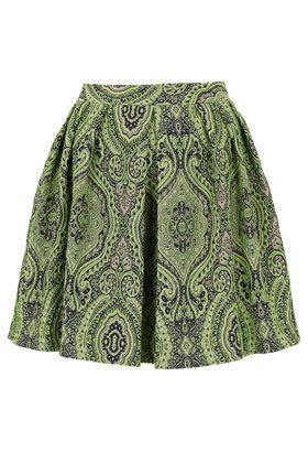 Paisley Jacquard Full Skirt