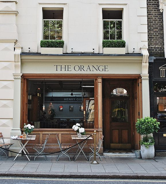 The Orange | London. Lovely pub in Sloane Square, with wonderful food and a few quaint rooms