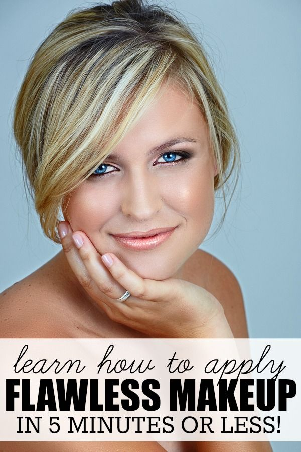 learn how to apply FLAWLESS MAKEUP in 5 minutes or less!