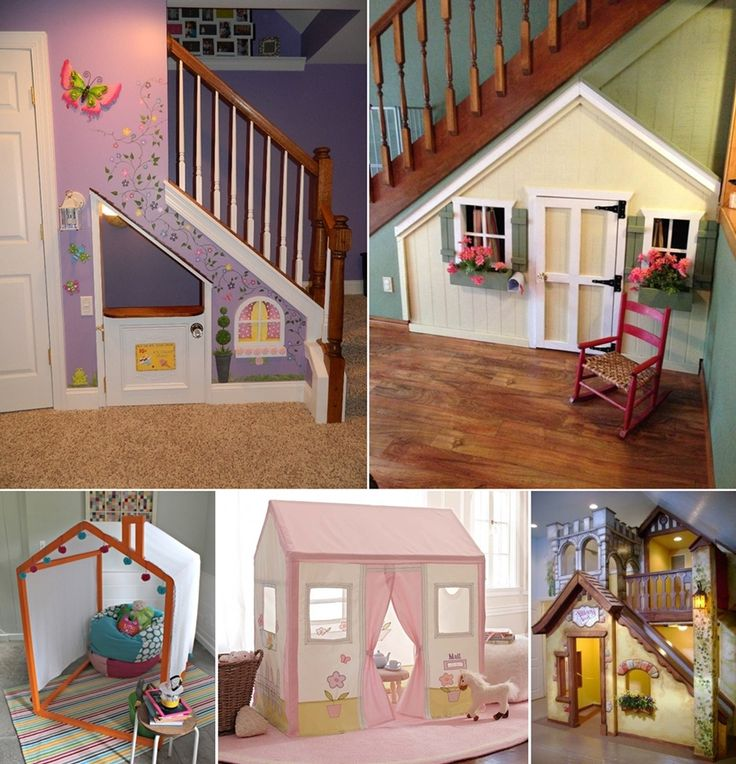 15 Fun and Cool Indoor Playhouse Ideas for Your Kids - http://www.amazinginteriordesign.com/15-fun-cool-indoor-playhouse-ideas-kids/