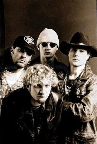 Alice in Chains is a Seattle-based grunge rock band formed in Seattle, Washington, in 1987 by guitarist and songwriter Jerry Cantrell and original lead vocalist Layne Staley.  While the band is still together in name, their co-founding lead vocalist, Layne Staley--died in April of '02.
