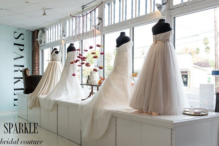 We stepped back to take a look at our full window display. There is a great mix of beauty and comfort to showcase our gorgeous SPARKLE gowns for the month of November.  http://www.gigimallattevents.com/ @gigimallatt #gigimallattevents http://www.leilanipaular.com/ @lalalena #leilanipaularphotography http://www.popeventrentalsanddesigns.com/ @poprentals #poprentalsanddesign