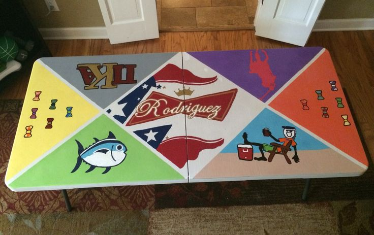 I can make a table look just like the cooler I made for Bill that he loves so much!