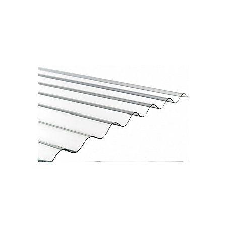Translucent PVC Roofing Sheet 1800mm x 762mm | Departments | DIY at B&Q
