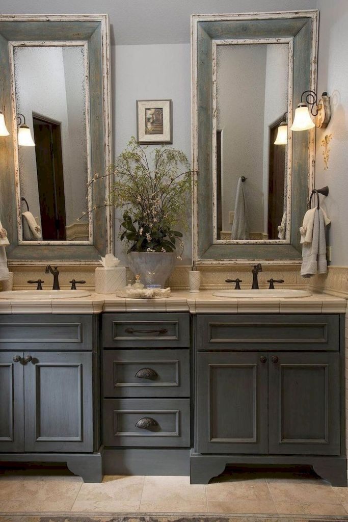 77 Awesome Modern Farmhouse Bathroom Decor Ideas Bathroom Remodel Master Farmhouse Master Bathroom Traditional Bathroom