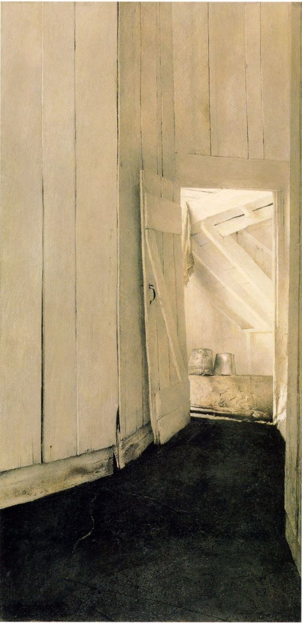 Cooling Shed, Andrew Wyeth 1953