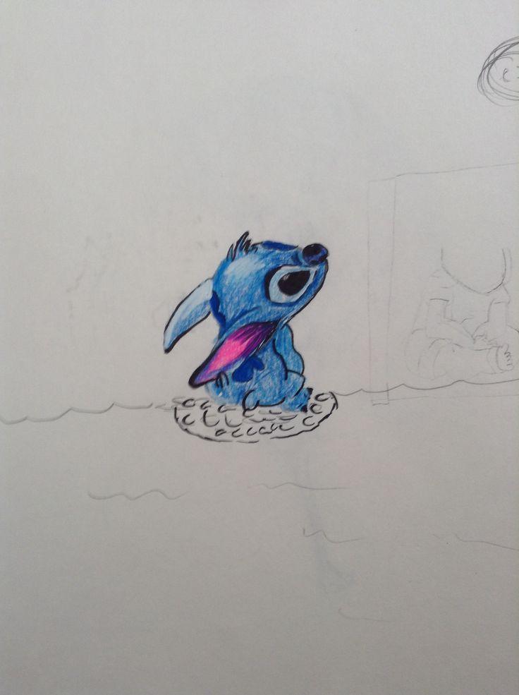I drew stitch yay