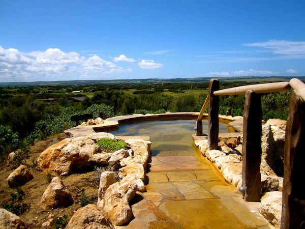 Peninsula Hot Springs in Melbourne, Australia