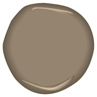 Hall color? Benjamin Moore CSP-260 taupe fedora Or dining room color...eventually?