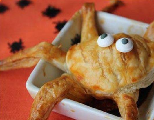 Nuevo post de Halloween, ¡Comida para nuestra fiesta! Albóndigas monstruosas