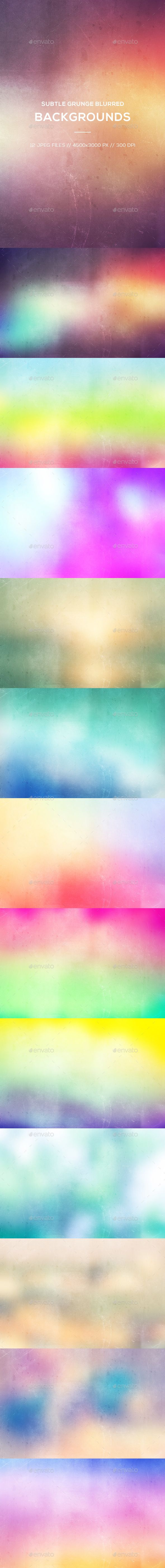 Subtle Grunge Blurred Backgrounds - #Abstract #Backgrounds Download here: https://graphicriver.net/item/subtle-grunge-blurred-backgrounds/20298159?ref=alena994