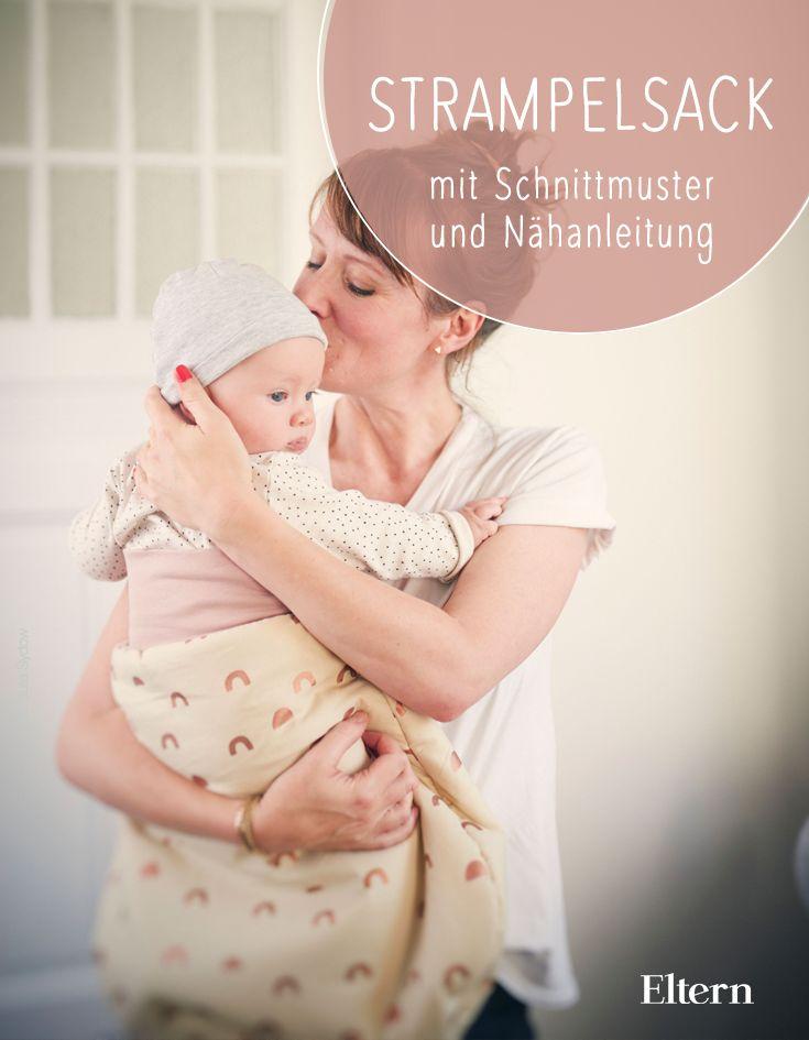 Gut verpackt: Schnittmuster und Nähanleitung für einen Strampelsack – DIY: Für Baby und Kind