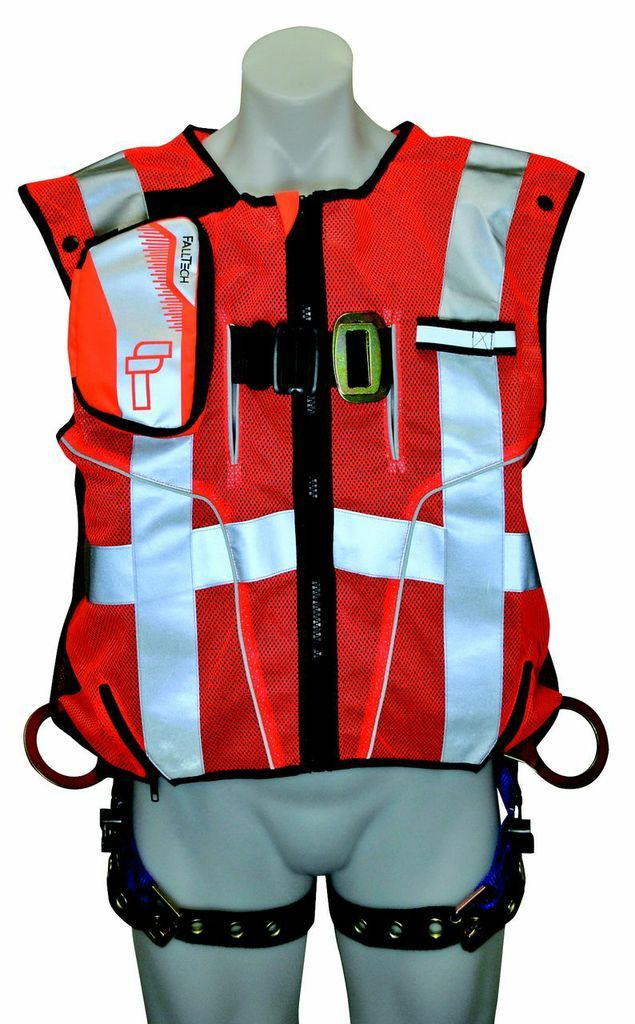 HighVis Vest Full Body Harness Ark Safety