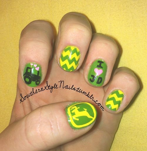 John Deere Nails!
