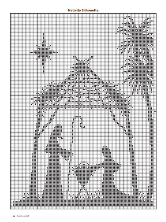122 best Nativity & Religious Christmas Cross Stitch images on ...