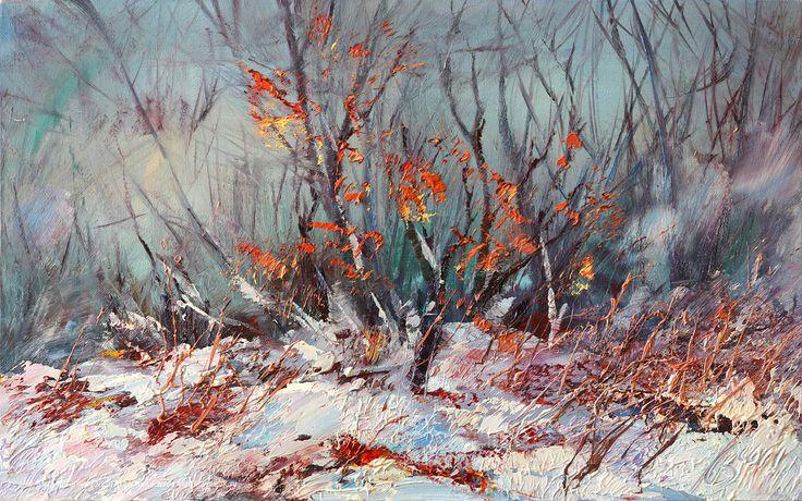 Зима, 2011. Холст, масло, 50х80