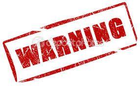 Afbeeldingsresultaat voor waarschuwing
