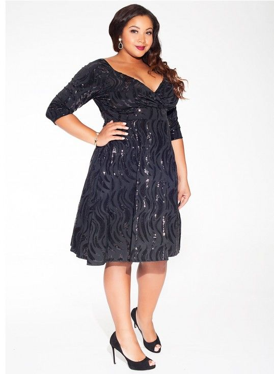 Christmas Or New Years Dress Perfect!  plus size christmas dresses | 20 Plus Size Holiday Dresses to Keep on Your Radar