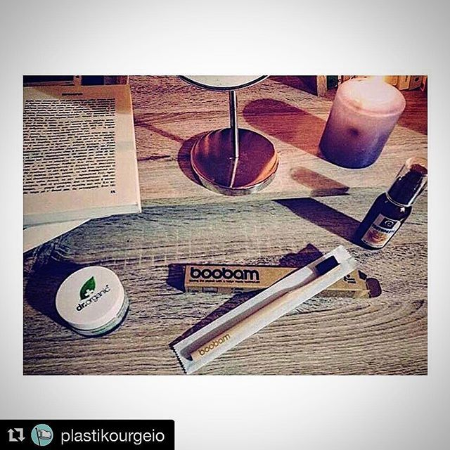 In the morning in the evening #boobambrush - find it in many colors at @plastikourgeio shop and lab @boobambrush @wwfgreece  by: @anastasia_vaitsopoulou