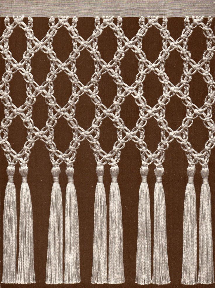 17 best images about macrame on pinterest macrame wall - Tipos de cortinas ...