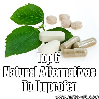 Top 6 Natural Alternatives To Ibuprofen ►► http://www.herbs-info.com/blog/top-6-natural-alternatives-to-ibuprofen/?i=p
